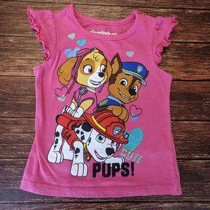 Paw Patrol Chase Marshall Skye Shirt